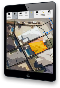 Online Building Approvals Application on iPad